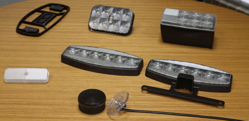 Прототипы светильников, напечатанные на 3D принтере