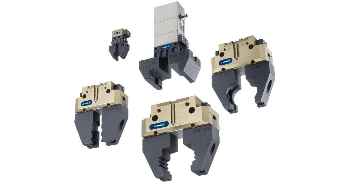 Кастомизированные зажимы Schunk, напечатанные на 3D принтере