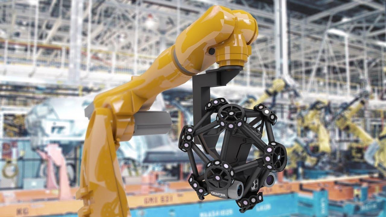 Роботизированный оптический 3D сканер MetraSCAN 3D-R
