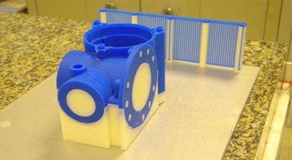 Восковая модель, напечатанная на 3D принтере