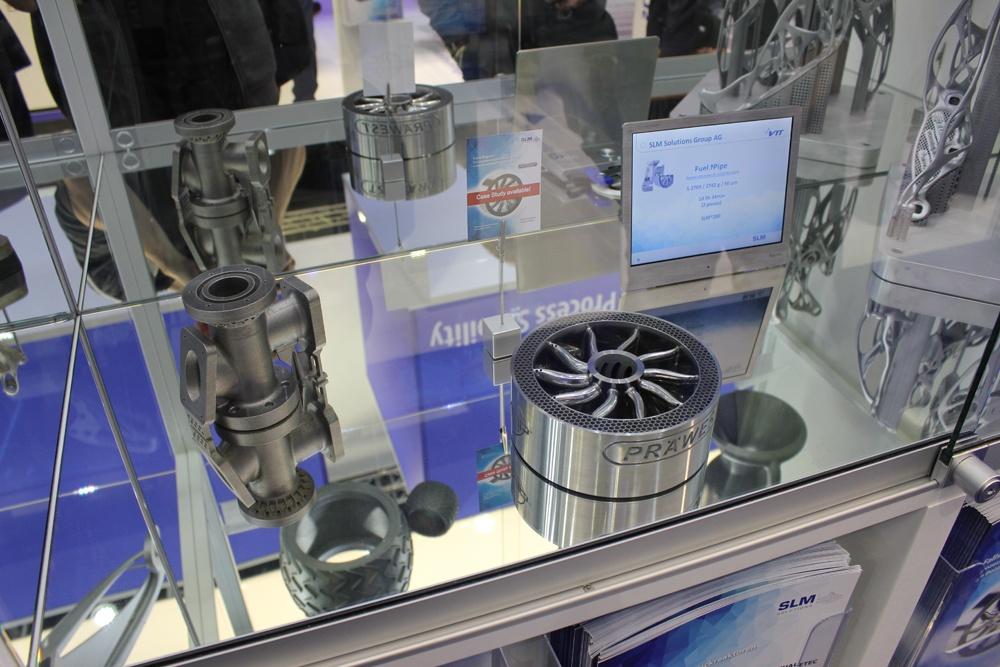 Изделия, созданные на аддитивной установке SLM Solutions
