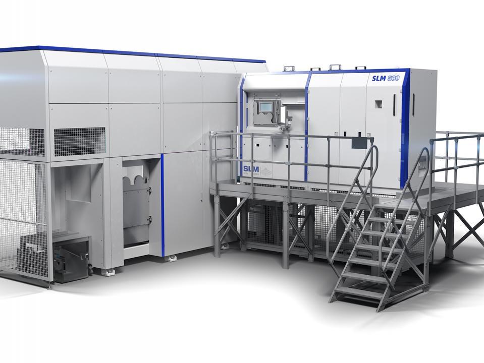 Металлический 3D-принтер SLM 800