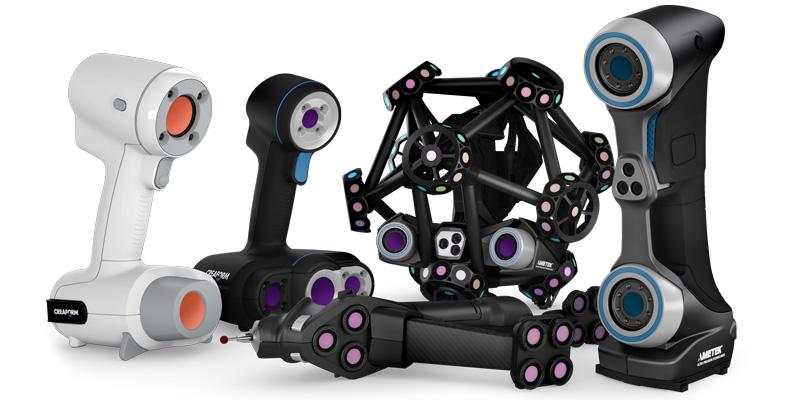 Ручные 3D-сканеры Creaform