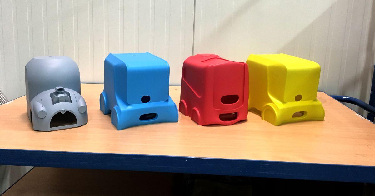 Напечатанные на 3D-принтере модели автомобилей