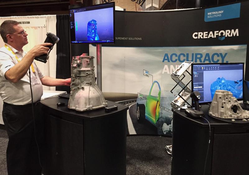 Ручной 3D сканер HandySCAN 3D