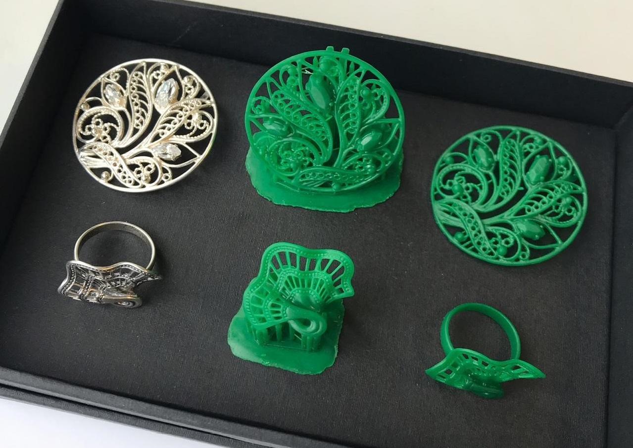 Мастер-модели, напечатанные на 3D-принтере