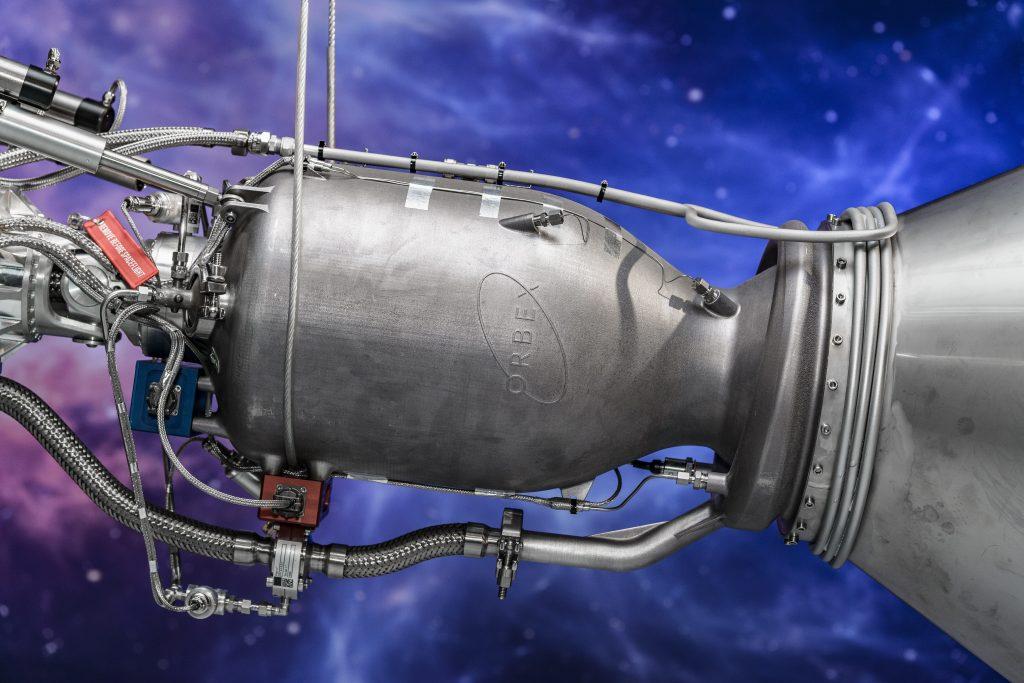 Ракетный двигатель, напечатанный на 3D-принтере SLM800