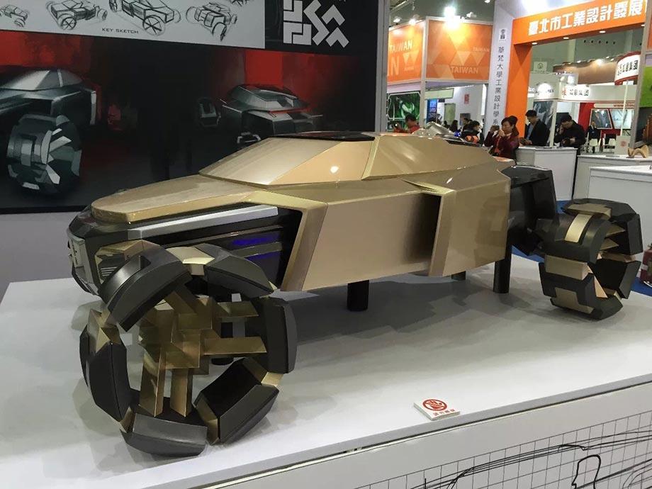 Прототип концепт-кара от ProtoFab