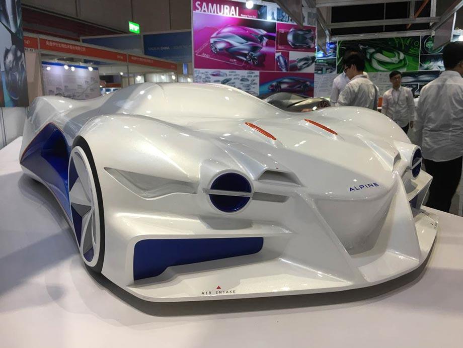 3D печать прототипа концепт-кара