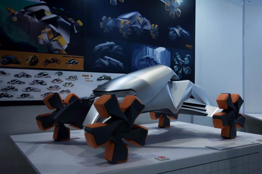 Прототип автомобиля, созданный на 3D принтере