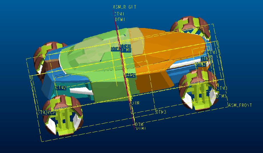 Полноразмерная развертка прототипа