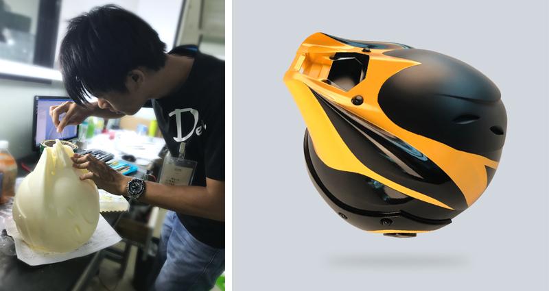 Лазерная стереолитография: прототип шлема