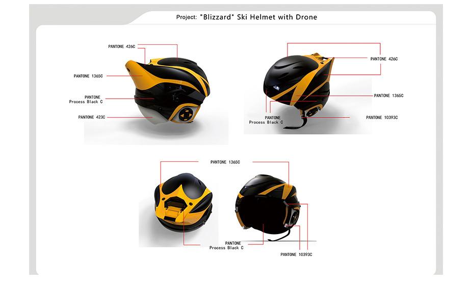 Цветовая гамма шлема