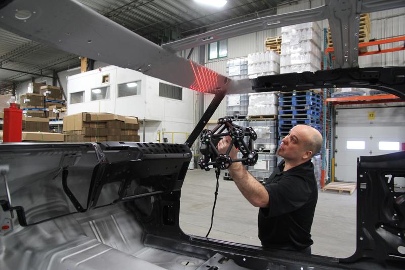 3D-сканирование автомобиля