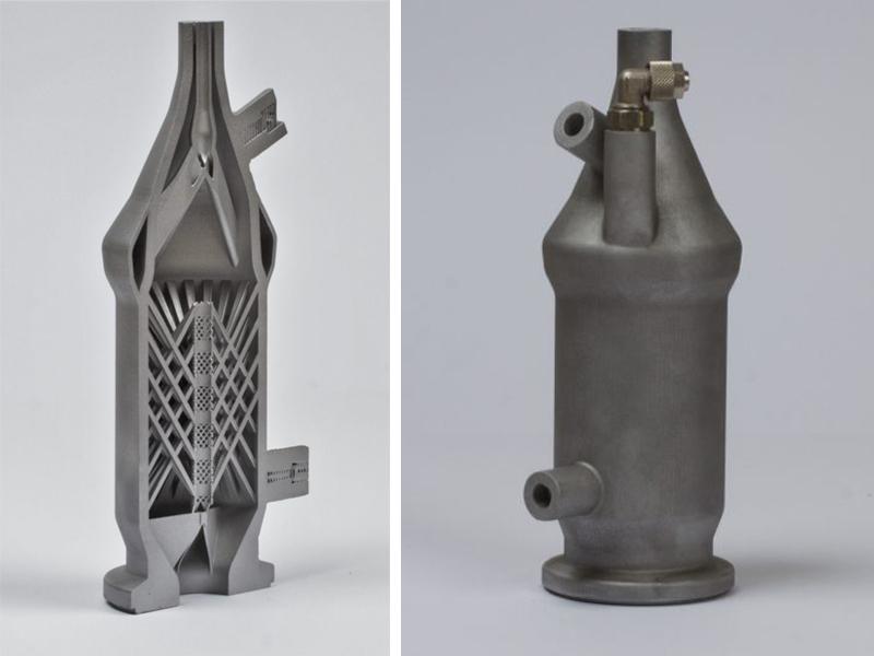 3D печать цельнометаллического изделия