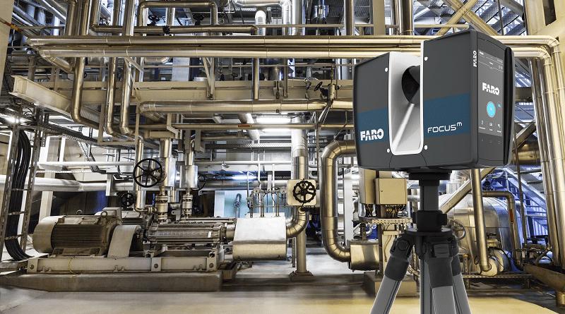 Промышленный лазерный 3D сканер FARO
