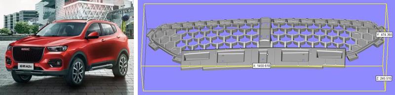 Радиаторная решетка, напечатанная на 3D-принтере