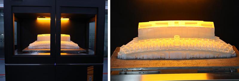 Процесс печати по технологии 3D-печати SLA