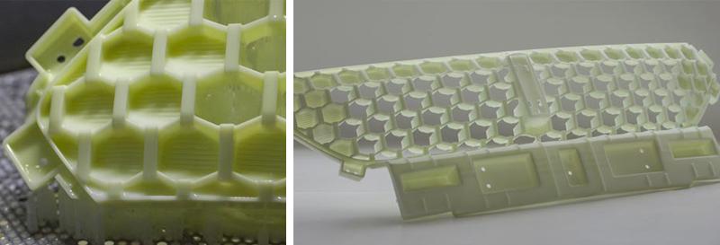 Материал для 3D-печати и готовое изделие