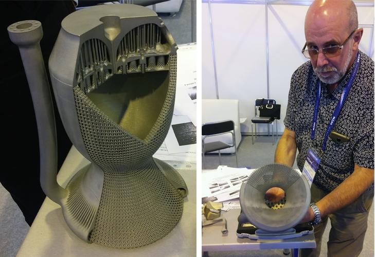 Жидкостной ракетный двигатель, напечатанный по SLM-технологии