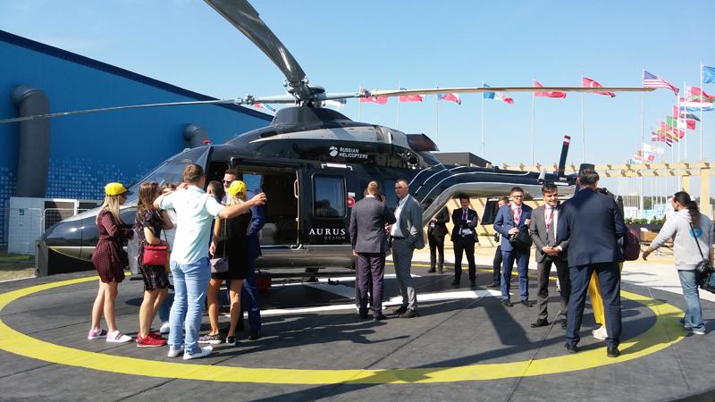 Новинка МАКС-2019 - вертолет Ансат премиум-класса