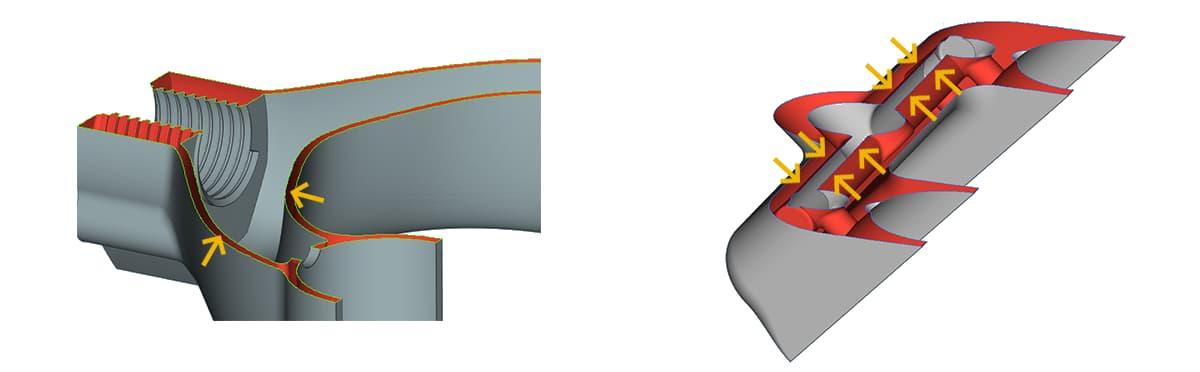 3D-моделирование стенок изделия
