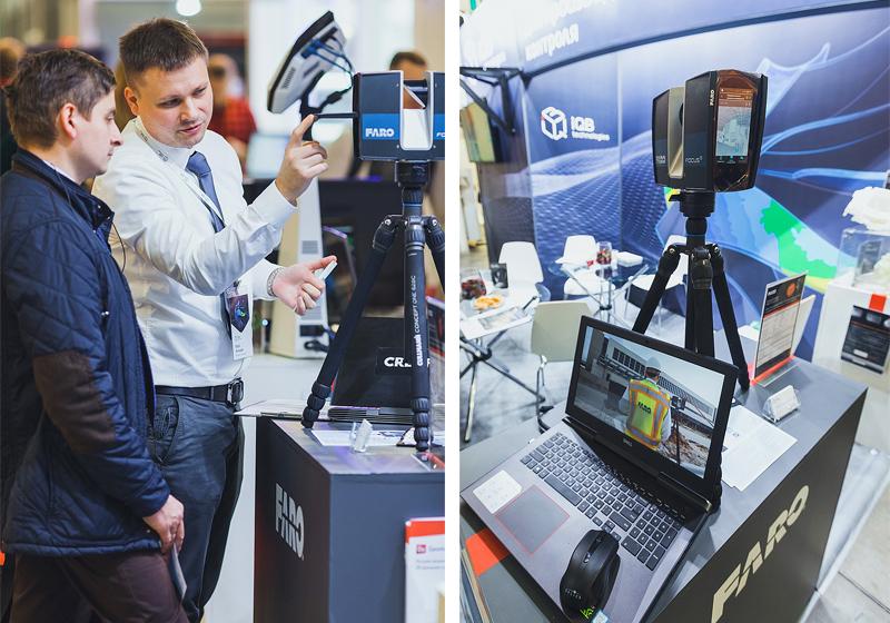 Лазерный 3D сканер FARO