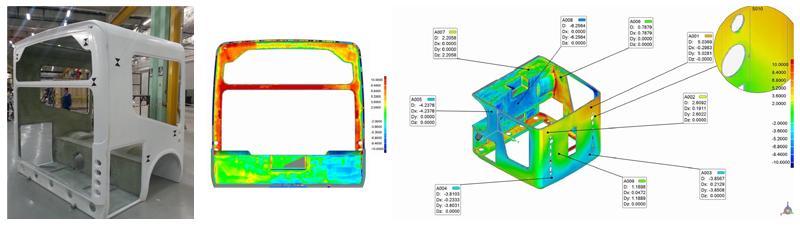 3D-сканирование корпуса автобуса