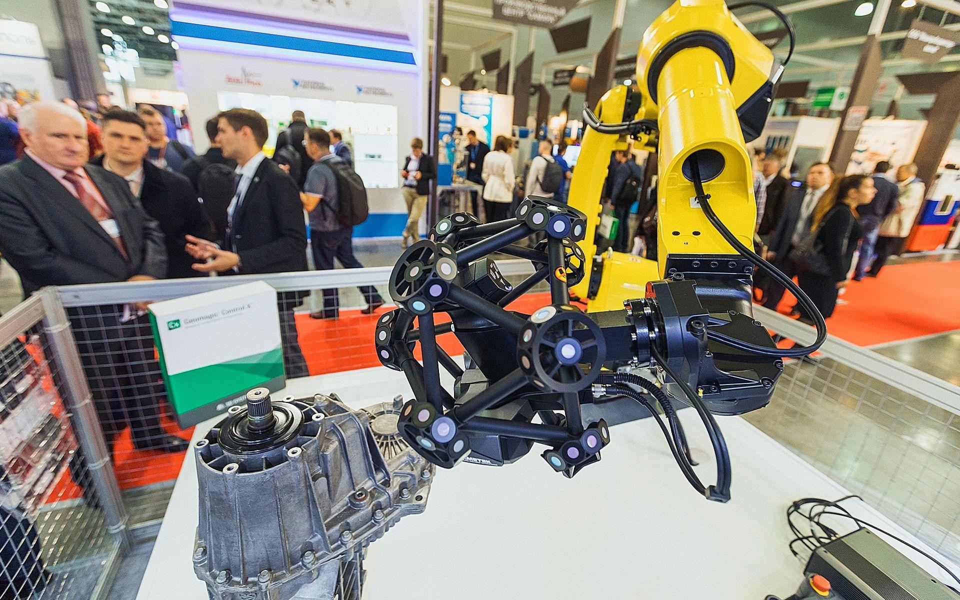 Роботизированный 3D сканер Creaform MetraSCAN