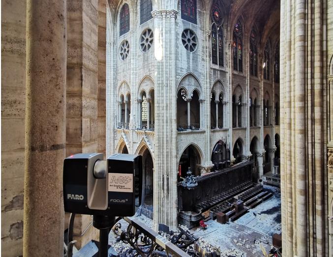 Лазерный 3D-сканер FARO Focus 3D