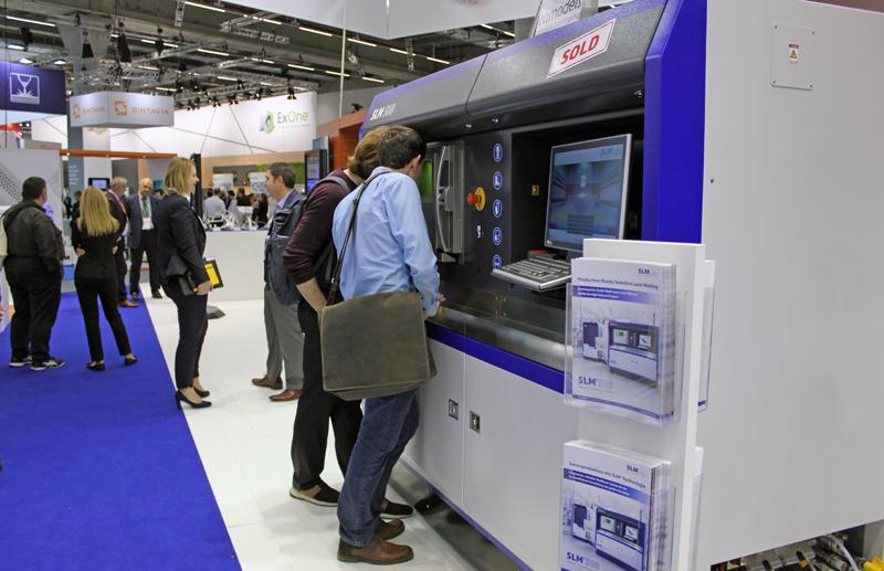 SLM технология на выставке Formnext