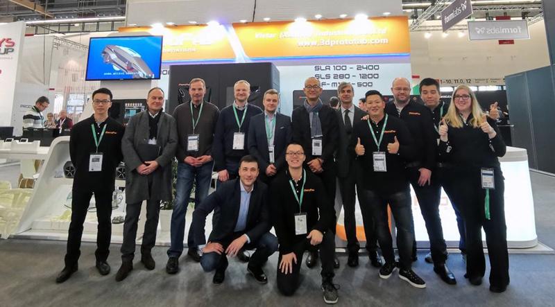 Formnext 2019 iqb team