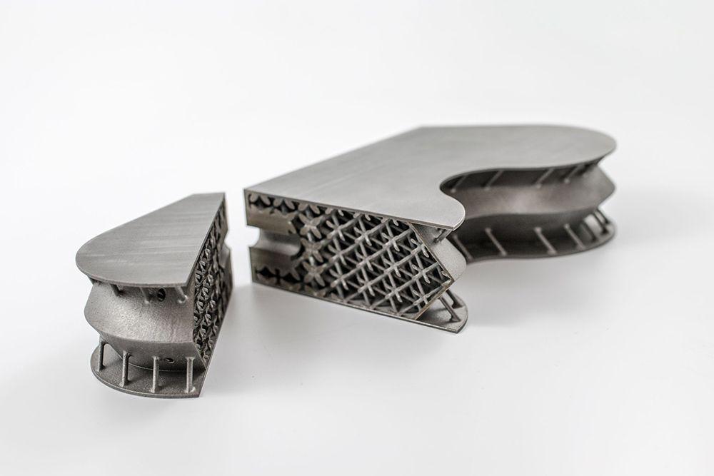 3d печать металлами позволяет реализовать ячеистую структуру