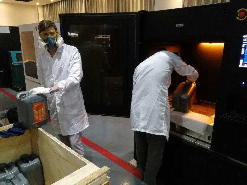 Обучение работе на 3D принтере ProtoFab