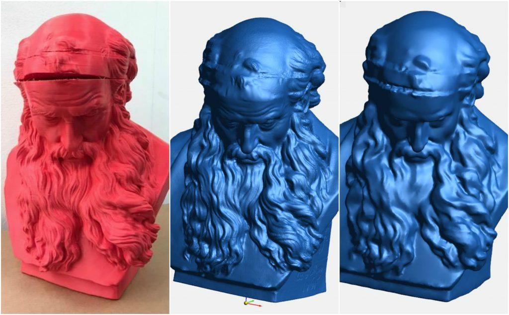 3d модель скульптуры