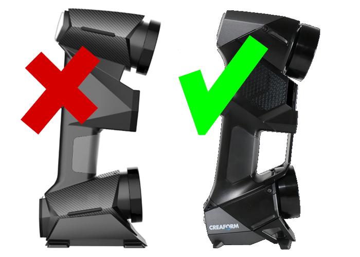 3D сканер Creaform HandySCAN BLACK и китайский аналог