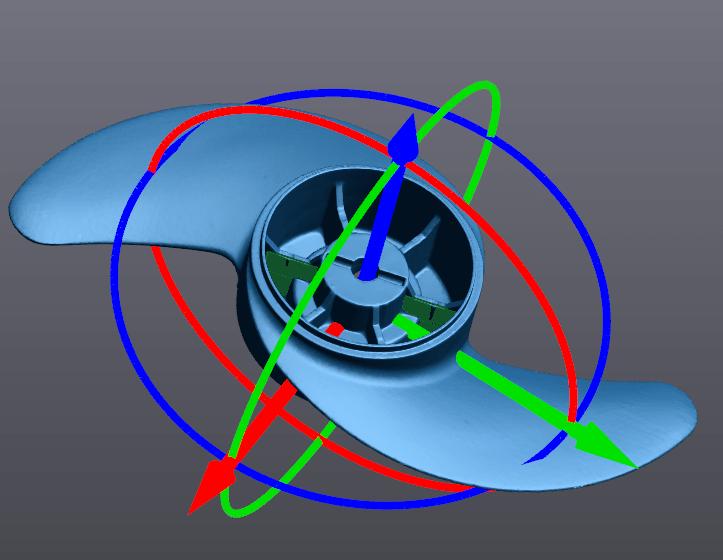 Ручное выравнивание системы координат 2