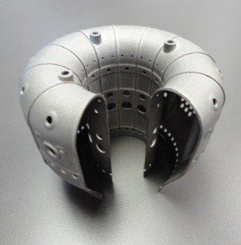 Камера сгорания, напечатанная на 3D-принтере