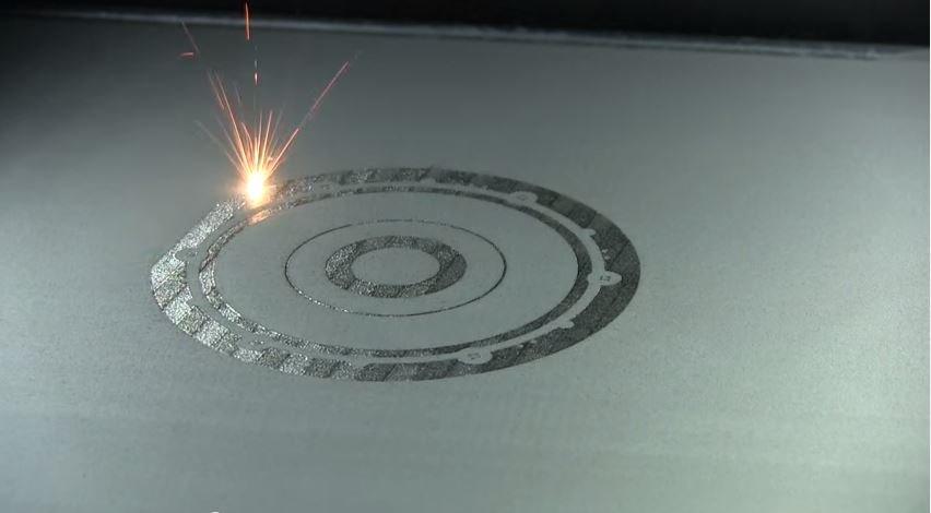 Процесс 3D-печати металлом
