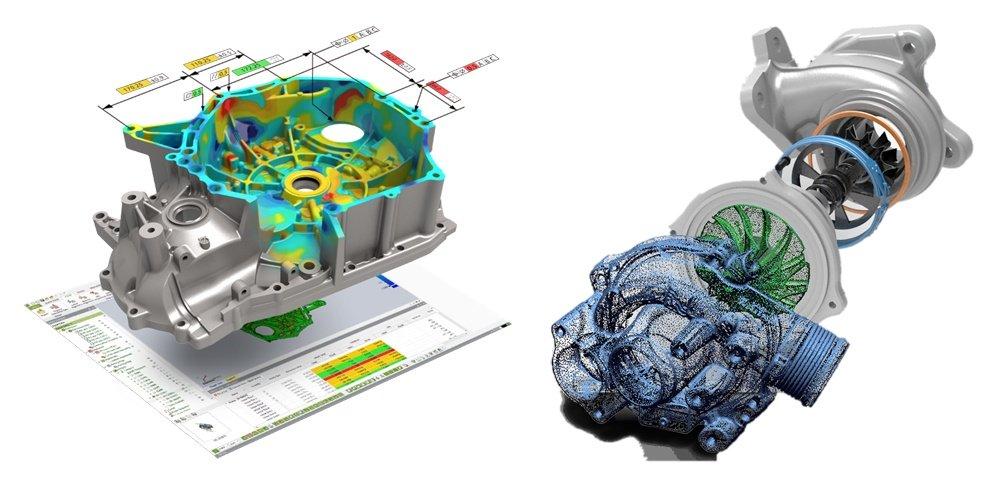 3D-сканер позволяет оптимизировать контроль качества и реверс-инжиниринг